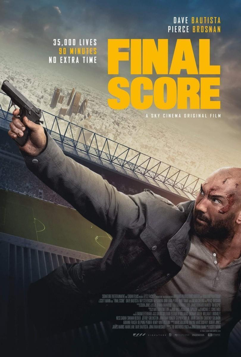 FINAL SCORE: Dave Bautista Ups His Game In The Official Trailer