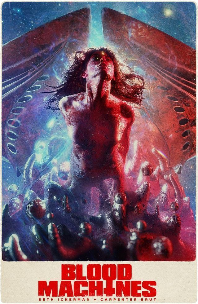 Ickerman/Brut/Sandberg Sci-Fi Fantasy Musical Shortfilm Team Up, BLOOD MACHINES, Gets A Trailer!