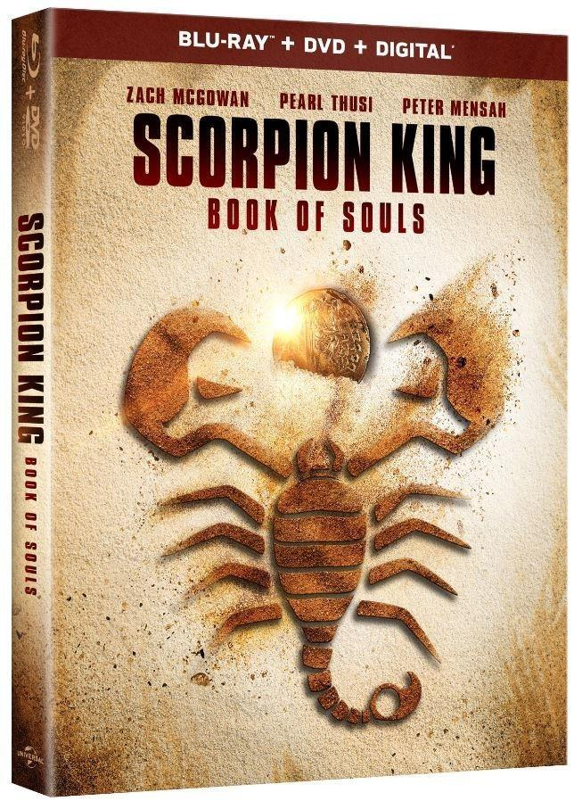 UNIVERSAL 1440 Signals SCORPION KING: BOOK OF SOULS And A 'Complete Collection' For October
