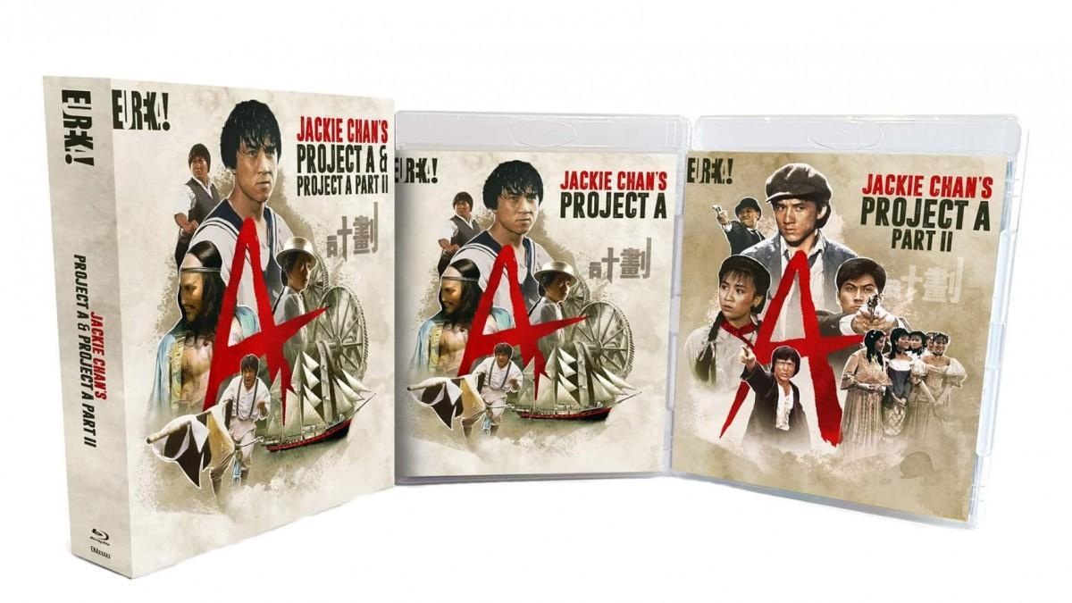 Eureka Announces JACKIE CHAN'S PROJECT A & PROJECT A II For UK Release