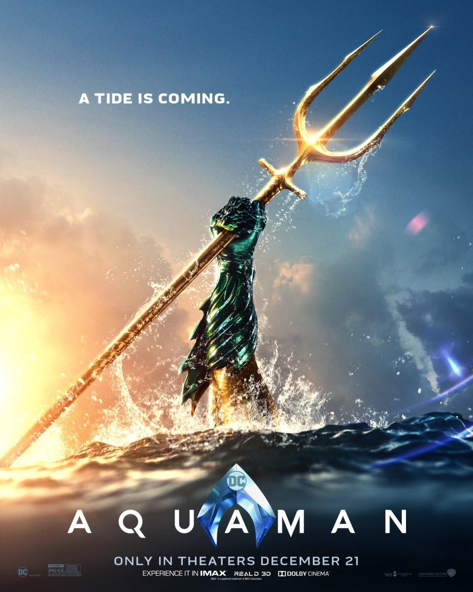 AQUAMAN Puts In Overtime In The Official Extended Trailer