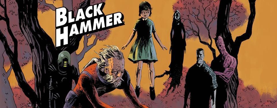 Legendary Advances Dark Horse Comic Series, BLACK HAMMER, For Film